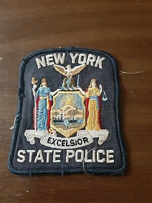 £4.29 • Buy New York State Police Patch