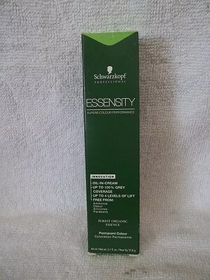 Schwarzkopf ESSENSITY Organic Ammonia-Free Hair Color ~ 2 Oz ~ LOT Of 4 Tubes • 18.38£
