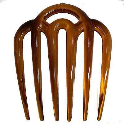 $ CDN4.37 • Buy Tort Brown Wide Tooth Side Hair Combs Slides Clips Hair Accessories