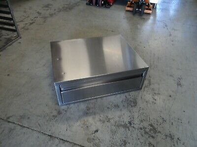 Wall Table Top Mounted Stainless Steel Cupboard 750 X 275 Mm  £100 + Vat • 120£