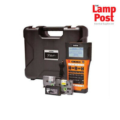 Brother PT-E550WVP - Handheld Industrial Electrician Label Printer Labelling • 134.99£