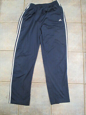 $ CDN15 • Buy Vintage Adidas Track Pants Tear Away Mens Large Blue 3 Stripes