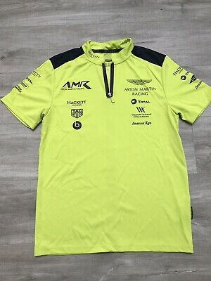 Aston Martin Racing Team Polo Shirt 2018 Size S • 20£
