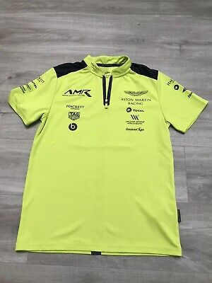 Aston Martin Racing Team Polo Shirt 2018 Size S • 15£