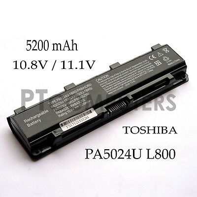 AU38.50 • Buy Battery ForTOSHIBA Satellite PA5024U-1BRS PABAS260 C850 C850D Series