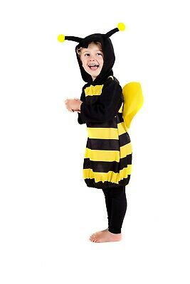 Toddler Bumble Bee Costume 1 - 4 Yrs Infant Boys Girls  Cute Animal Fancy Dress • 12.95£