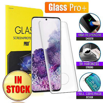 AU4.99 • Buy For Samsung Galaxy S8 S9 S10 Plus S10e Note 9 10 Tempered Glass Screen Protector