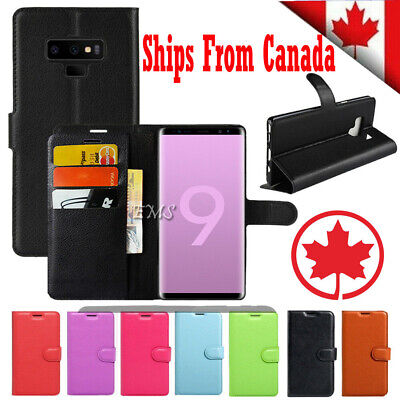 $ CDN7.49 • Buy For Samsung Galaxy S8 S9 S10 Plus S10E Wallet Leather Cardholder Flip Case Cover