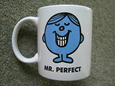 £7.99 • Buy Mr Perfect China Mug Mr Men 2016 THOIP SANRIO Roger Hargreaves You Are Perfect