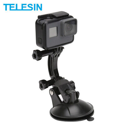 £9.34 • Buy TELESIN Suction Cup Flexible Mount Holder & Phone Clip For GoPro DJI Osmo Action