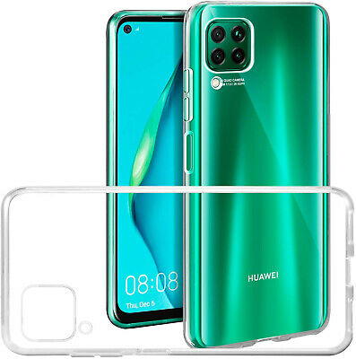 For Huawei P30 P40 Lite P Smart Y6 2019 Honor 20 Clear TPU Gel Phone Case Cover • 1.99£