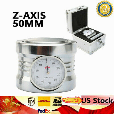 $55.38 • Buy 50mm Z Axis Dial Zero Pre Setter CNC-Milling Machining Centers 0.01  Gage Offset