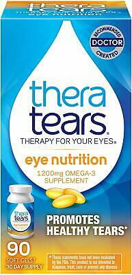 AU31.77 • Buy TheraTears Eye Nutrition- 90 CT- Omega 3 Supplement