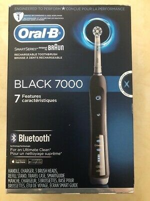 AU193.07 • Buy Oral-B 7000 SmartSeries Rechargeable Power Electric Toothbrush With 3 Replace...
