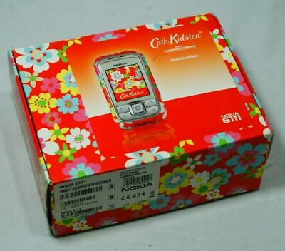 Nokia 6111 Cath Kidston Red Flowers -Vintage Mobile Phone • 49£
