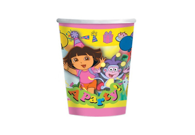 Dora The Explorer Party Cups Pack Of 8 • 4.77£