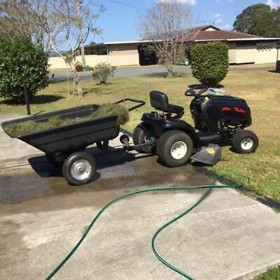 AU2500 • Buy Mtd Ride On Mower And Tip Trailer