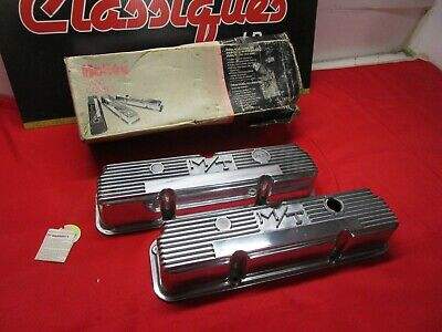 $549.95 • Buy Ford Fe 352 360 390 406 427 428 M/t Valve Cover Nos Mickey Thompson Aluminium
