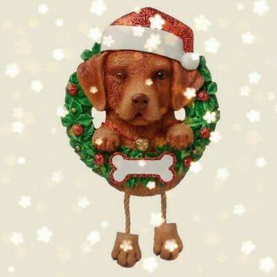 Labrador Christmas Decoration Bauble Ornament Gift/Present Dog Fox Red • 9.99£