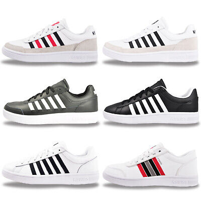 View Details K Swiss Mens LEATHER Classic Retro Fashion Trainers From £19.99 FREE P&P • 26.99£