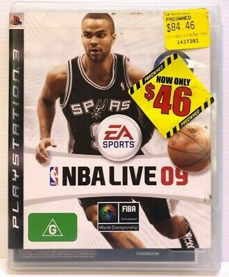 AU11.69 • Buy EA Sports NBA Live 09 PS3 - Free AusPost