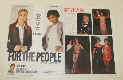 $ CDN24.16 • Buy Debbi Morgan FULL PAGED Magazine CELEBRITY CLIPPINGS Photos Article