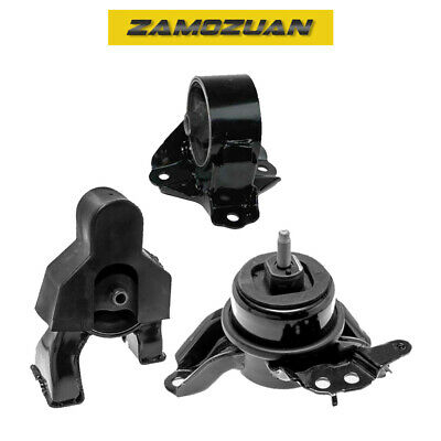 $99.61 • Buy Front & Rear Engine Motor Mount 3PCS 2011-2014 For Hyundai Sonata 2.4L For Auto.