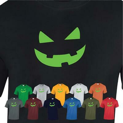 Big Teeth Mask Smiley Pumpkin Fancy Mens Kids T-shirt Halloween Party Scary Gift • 6.99£