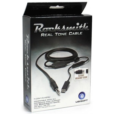 AU47.95 • Buy Official Rocksmith Real Tone Cable Guitar/Bass (PS4/Xbox One/PC) NEW & GENUINE