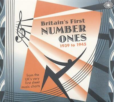 £7.99 • Buy BRITAIN'S FIRST NUMBER ONES 1939 TO 1945 - V/A 3CDs (NEW & SEALED) Wartime Hits