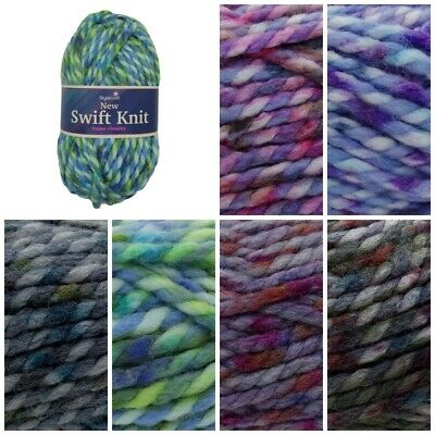 Stylecraft SWIFT KNIT SUPER CHUNKY Acrylic And Wool Knitting Yarn 100g Ball • 3.99£
