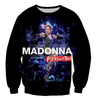 $ CDN21.45 • Buy Hot Singer Madonna 3D Print Casual Sweatshirt Mens Womens Hoodie Pullover Tops