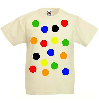 £7 • Buy Children S Spotty Dotty T Shirt In Natural Colour Need A Tee With Coloured Spots