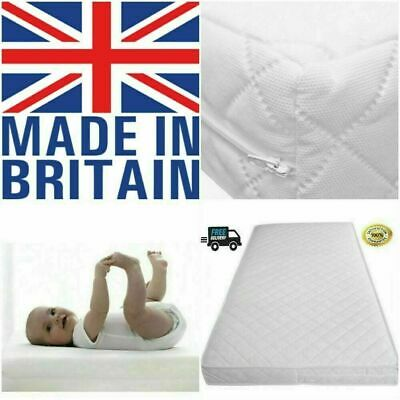 £33.95 • Buy Made In UK Cot Bed Mattress 160 X 80 / 160x70 (24/48 Hour Delivery) Soft Cushy..
