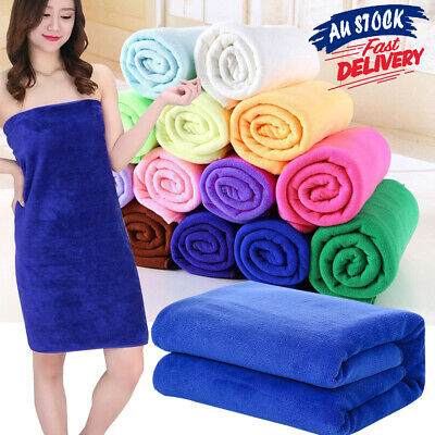 AU11.95 • Buy Microfiber Towel Travel Bath Microfibre Footy Sport Gym Swimming Camping Beach