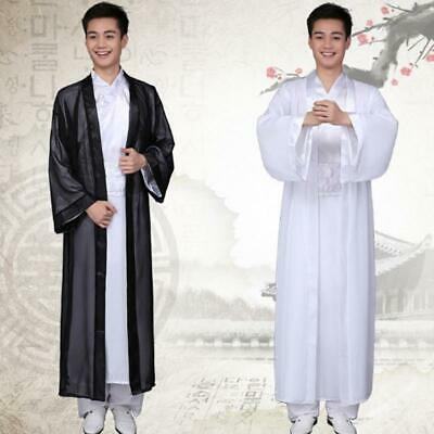 Chinese Ancient Men's Cosplay Hanfu Tang Suit Warrior Scholars Dynasty Costumes • 16.87£