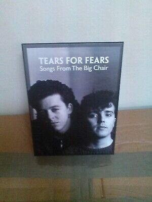 £128.95 • Buy Tears For Fears Songs From The Big Chair - 30th SUPER DELUXE BOX SET 5.1 Dvd
