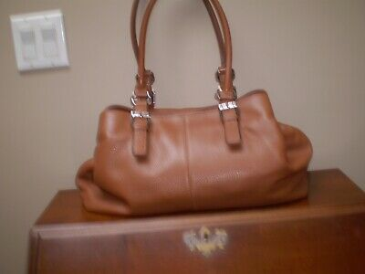 $ CDN60 • Buy Danier Mint Condition 100% Whiskey Leather Shoulder Handbag