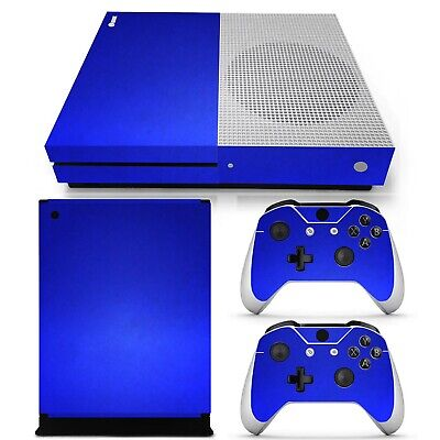 $9.99 • Buy Xbox One S Skin Blue Matte Chrome