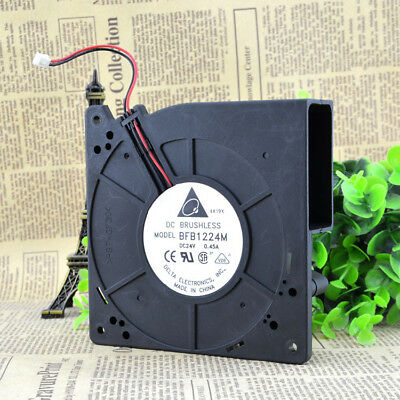 1PC Delta BFB1224M 24V 0.45A 12CM 12032 2-Wire Turbo Blower Cooling Fan • 22.40$