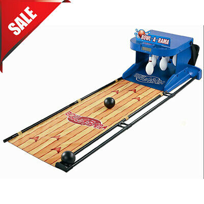 $65.40 • Buy Portable Bowling Alley Set Bowl-A-Rama Indoor Outdoor Arcade Game For Kids Blue