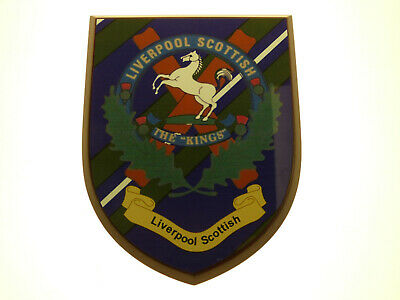 Liverpool Scottish Regiment Classic Hand Made Regimental Full Face Mess Plaque • 19.99£
