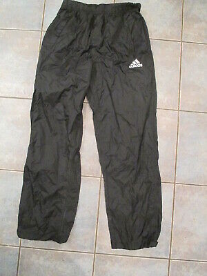 $ CDN15 • Buy Vintage Adidas Windbreaker Pants Black Size Men's Medium