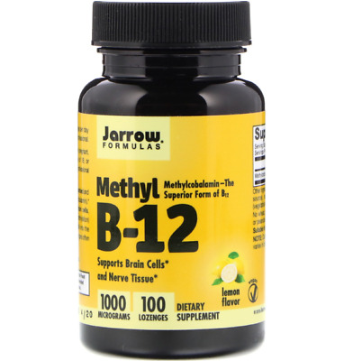 Jarrow Formulas Methyl B-12 1000 Mcg - 100 Lozenges • 13.65£