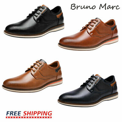 $29.99 • Buy Bruno Marc Mens Casual Shoes Fashion Lace Up Classic Oxford Shoes US Size 6.5-13