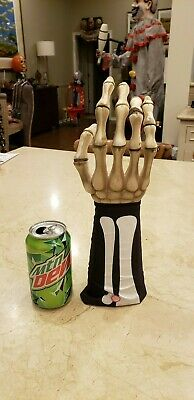 $6.95 • Buy Life Size Skeleton Hand Prop For Halloween Haunted House Display Evil Scary