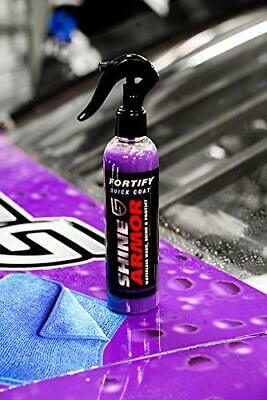 $28.69 • Buy Shine Armor Fortify Quick Ceramic Coat Waterless Wash Hydrophobic Paint Protect