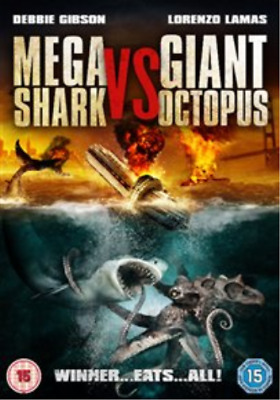 Lorenzo Lamas, Deborah Gibson-Mega Shark Vs Giant Octopus DVD NEW • 6.63£