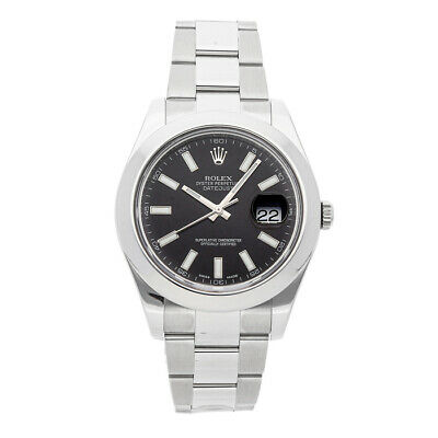 $ CDN9179.66 • Buy Rolex Datejust II Auto 41mm Steel Mens Oyster Bracelet Watch 116300