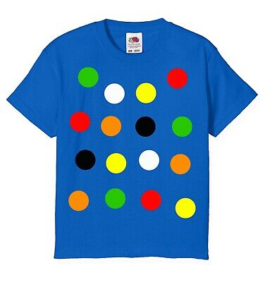 £8 • Buy Children 's Spotty Dotty T Shirt In Royal Blue. Need A Tee With Coloured Spots?